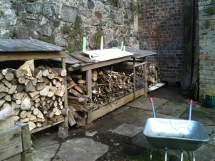 Firewood stores