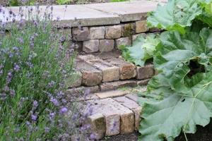New steps in the garden