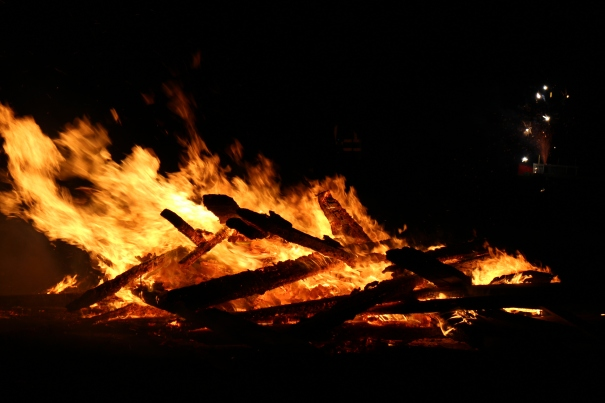 This year's bonfire night